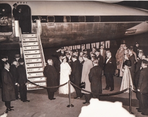 Queen Elizabeth visit to NY in 1957