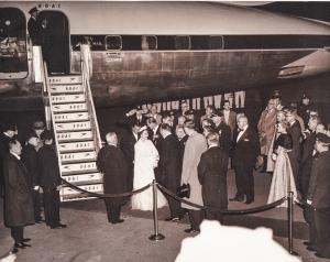 Queen Elizabeth visit to NY in 1957