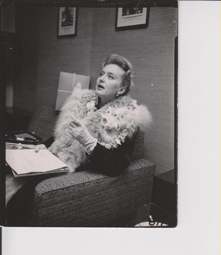 Celeste Holm 11/21/57